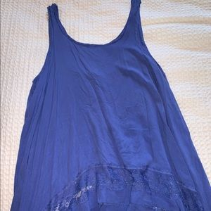 Free people top royal blue